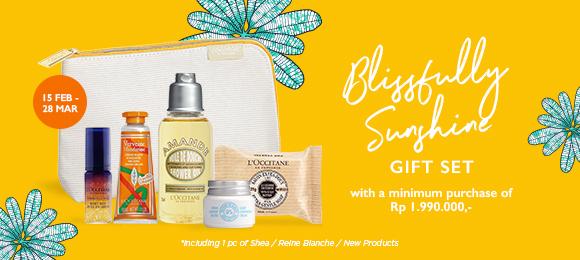 Enjoy Blissfully Sunshine Gift Set