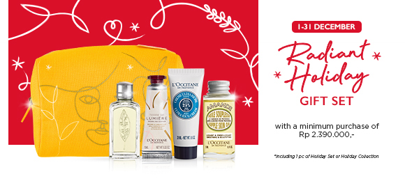 Enjoy Radiant Holiday Gift Set